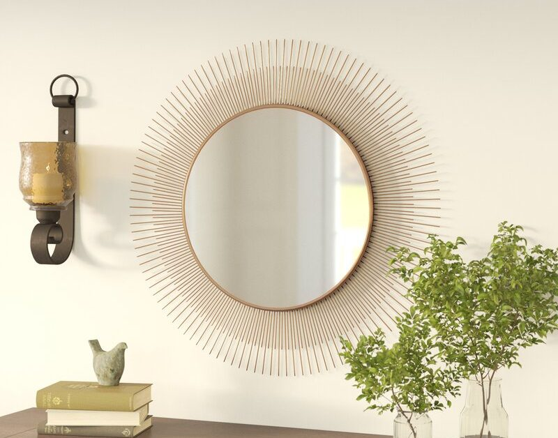 6 Mirrors With The Following  Brighten Up Your Living Space